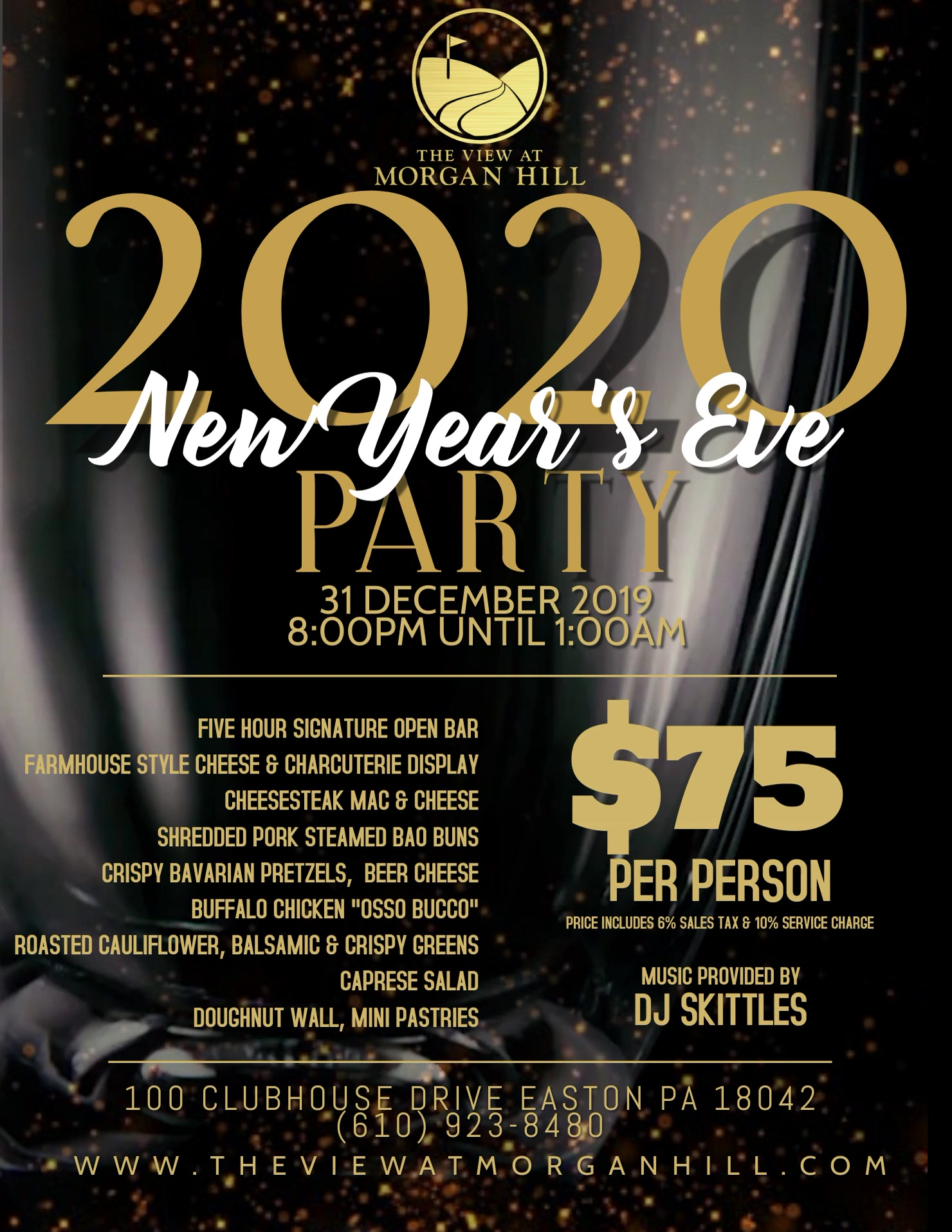 Copy of New Years Eve Party Video Flyer